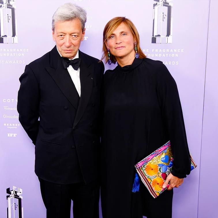 Frederic Malle, Recipient, Game Changer Award Frederic Malle and Marie Malle attends 2018 Fragrance Foundation Awards
